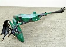 YO FOUNDRY PROOF #10/10  RETIRED  Bronze Frog By the Frogman Tim Cotterill