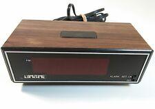 Vintage Lumitime Alarm Clock Model SS-3 electric vintage