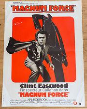 Affiche de cinéma : MAGNUM FORCE de Ted POST