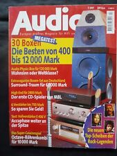Audio 7/97, German Physics Movie One, Rythme, accuphase E 406 V, MBL 1, Audio Midas,