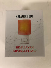 SMAGREHO Mini Hand Carved Natural Himalayan Salt Lamp night light stone