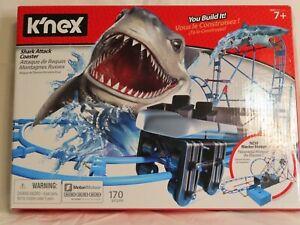 K'NEX Thrill Rides - Tabletop Thrills Shark Attack Coaster Set - Open Box