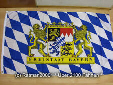 Fahne Flagge Bayern Freistaat NEU - 90 x 150 cm
