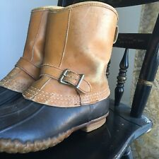 Vintage Ll Bean Maine Hunting Boots Womens 8 8.5 9 Duck Gore-tex thinsulate