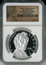 2009 P Lincoln NGC PF 69 Ultra Cameo Commemorative Silv