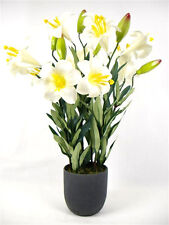 50cm Artificial Silk Lily flowers plant ~ wedding gift