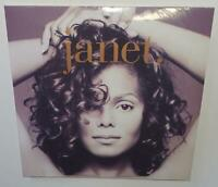 JANET JACKSON janet. (2019 REISSUE) BRAND NEW SEALED LIMITED CLEAR VINYL LP