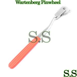 5 Neurological WARTENBERG PINWHEEL/Pin Wheel Orange Color
