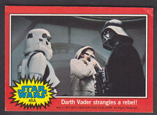 Topps Star Wars - Series 2 1977 - # 45A Darth Vader Strangles A Rebel!
