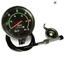 Classic Style Speedometer, For 49/80cc Motorized Bike, Bicycle Engine Kit (jac)