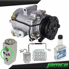 New AC Compressor Kit A/C for 2005 Chevrolet Equinox 3.4L Single Stud Exp Valve