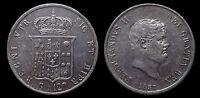 pci1138) Napoli Regno delle Due Sicilie Ferdinando II Piastra 120 gr 1857