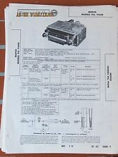 MOPAR OEM 1957 1956 Plymouth Motorola Model 916 916HR  Photofact Folder