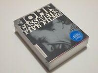 John Cassavetes: Five Films (Blu-ray Disc, 2013, 5-Disc Set, Criterion)
