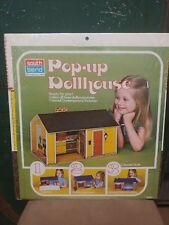 Vintage South Bend Pop Up Folding  Colonial Doll House NEW