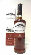 BOWMORE 15 YEARS OLD DARKEST SHERRY CASK FINISHED 70CL 43%VOL