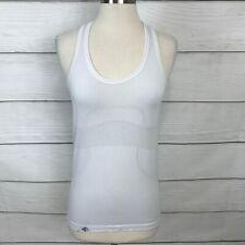 Lululemon Swiftly Tech Tank Top Size 6 White Sleeveless  Workout Run ***READ***