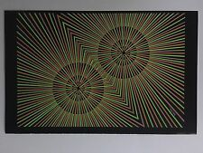 Blacklight Poster Pin-up Print Jimi Hendrix Beeghley Double Sided Prints Circles