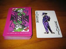 DC Comics Batman, Joker 1989 playing cards, casino, poker, blackjack etc.