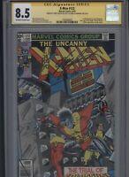 X-Men #122 CGC 8.5 2x SS Chris Claremont & Terry Austin UNCANNY John Byrne