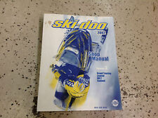 2002 Ski Doo Snowmobile Grand Touring Legend MX Z Summit Service Shop Manual NEW