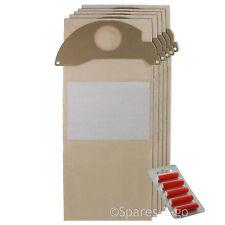 15 x Aspirateur Karcher Hoover Sacs sac filtré filtre à poussière MV2 + frais