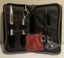 "Olivia Garden Precision Cut 5.75"" Shear Set With Zipper Case - PS-C02"