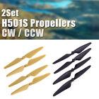 8Pcs Original Hubsan H501S Propellers CW / CCW H501A H501C H501M RC Drone Blade