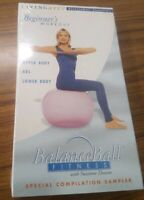 Balance Ball Fitness with Suzanne Deason (VHS,2000) Beginner's Workout