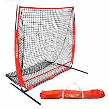 GoSports 5 x5  Baseball   Softball Practice Pitching Net with Bonus ... 1eda0be529efe