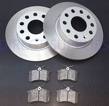 FOR VW GOLF MK5 1.4 1.6 2005-2009  REAR BRAKE DISCS AND PADS NEW SET