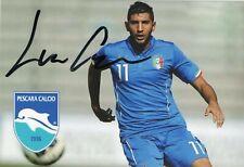 Pescara Calcio Luca Crecco Soccer Signed Sport Foto Autografo Calcio