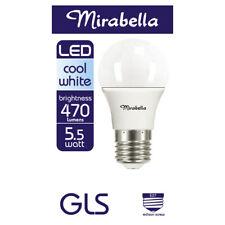 Mirabella LED Globe GLS Edison Screw 5.5 Watt Cool White 1 each