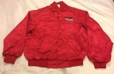Incredible Pizza Company Red Nylon Women's S Jacket 50's Diner American Ladies