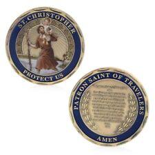 St.Christopher Patron Saint Of Travelers Commemorative Coin Challenge Souvenirs