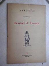 DIECI DISEGNI SUI BRACCIANTI DI ROMAGNA Giuseppe Mazzullo Disegno popolare 1951