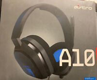 ASTRO Gaming A10 Wired 3.5mm Gaming Headset Xbox One PS4 - Blue