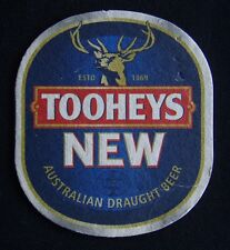 Tooheys New Australian Draught Beer Coaster (B303)