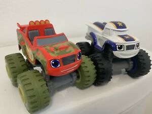 CAMOUFLAGE BLAZE and DARINGTON: Blaze and the Monster Machines. Die-Cast.