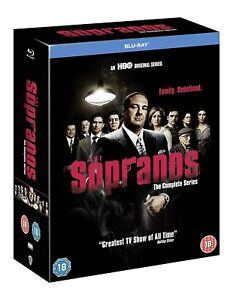 The Sopranos: The Complete Series (Blu-Ray, Box Set)