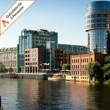 Städtereise Berlin Luxus Hotel 2 Personen Deluxe Zimmer mit Spree Blick 2 Tage