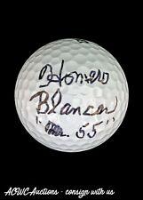 "Golf Ball - Signed by Homero Blancas ""Mr. 55"" Inscription - JSA Certified"
