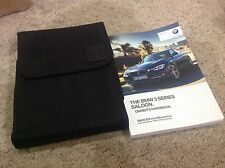 BMW 3 SERIES 2016-2018 owners manual handbook pack covers I drive systems REFOS1