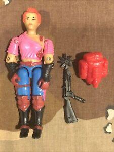 GI JOE COLLECTION:  COBRA Action Figure - Zarana 1986