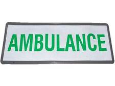 Insignia Reflectante Ambulancia (pequeño) no Hook & Loop comunidad Paramédico EMT MEDIC