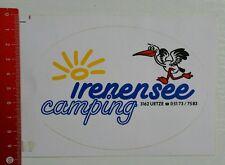 Aufkleber/Sticker: Irenensee Camping (08041676)