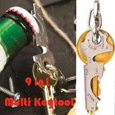 Multifunctional Survival Tool Stainless Steel Utility Key Multi Tools Pocket Set