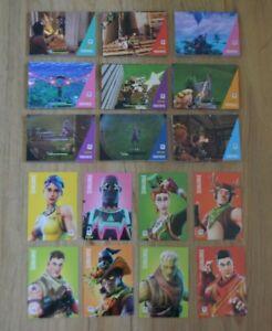 Panini Fortnite Serie 1 Trading Cards Common & Uncommon Einzelkarten aussuchen
