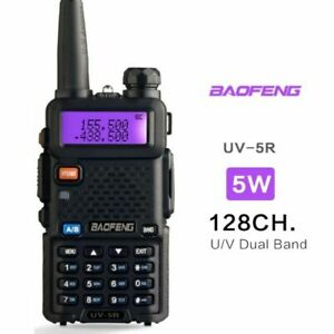 Baofeng Uv5r Two Way Ham Radio Dual Band 136-174/400-520mhz 5w Walkie Talkie US