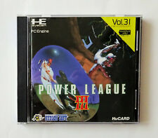 POWER LEAGUE 3 World Class Baseball III [ Hudson Soft ] PC-Engine HuCard Japan